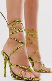 Navigate Barely There Heeled Sandal