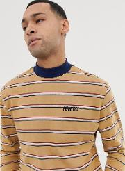 Organic Cotton Long Sleeve Relaxed Striped