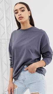 Oversized Slouchy Lightweight Sweatshirt
