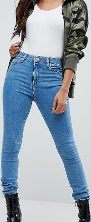Petite Ridley Ankle Grazer Jeans