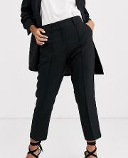 Petite Tailored Smart Mix & Match Cigarette Suit Trousers