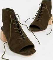 Rascal Wide Fit Lace Up Shoe Boots