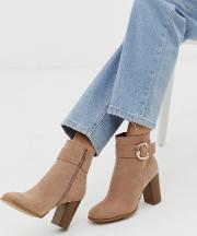 Relay Heeled Ankle Boots