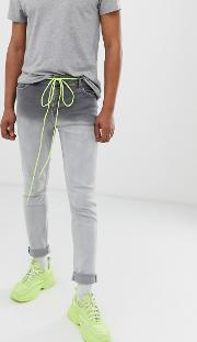 Skinny Jeans Ombre Wash