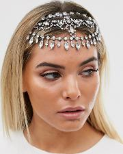 Statement Crystal Crown Headband