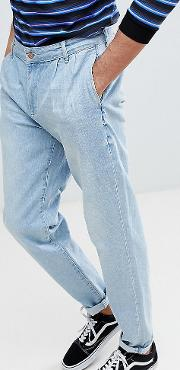 Tall Double Pleat Jeans