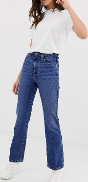 Tall Egerton Rigid Cropped Flare Jeans