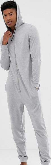 Tall Hooded Onesie