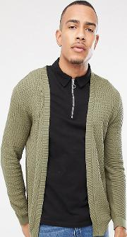 Tall Lightweight Cable Cardigan