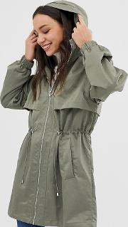 Tall Lightweight Parka With Jersey Lining