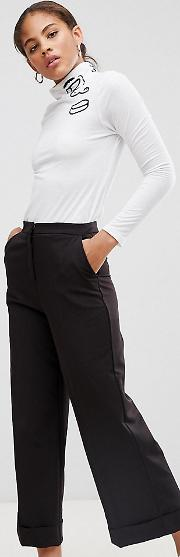 Tall Mix & Match Tailored Clean Culotte
