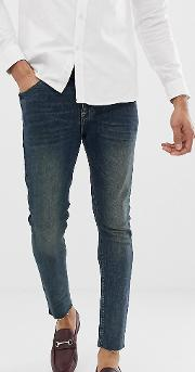 Tall Super Skinny Jeans Dark Wash