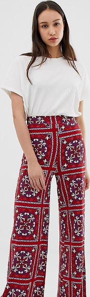 Tall Wide Leg Trousers
