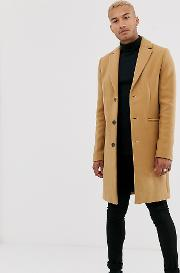 Tall Wool Mix Overcoat