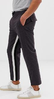 Tapered Crop Smart Trouser