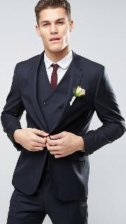 42996c66c03 Wedding Slim Suit Jacket Dark 100 Wool. asos design