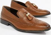 Wide Fit Brogue Loafers