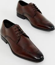 Wide Fit Brogue Shoes