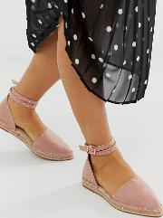 Wide Fit Jiffy Studded Espadrilles
