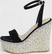 Wide Fit Justina Espadrille Wedges