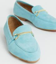 Wide Fit Moment Suede Loafers