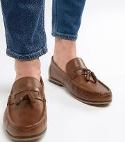 Wide Fit Tassel Loafers