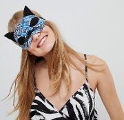 made in kenya handmade cat eye mask