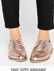 mai leather brogues