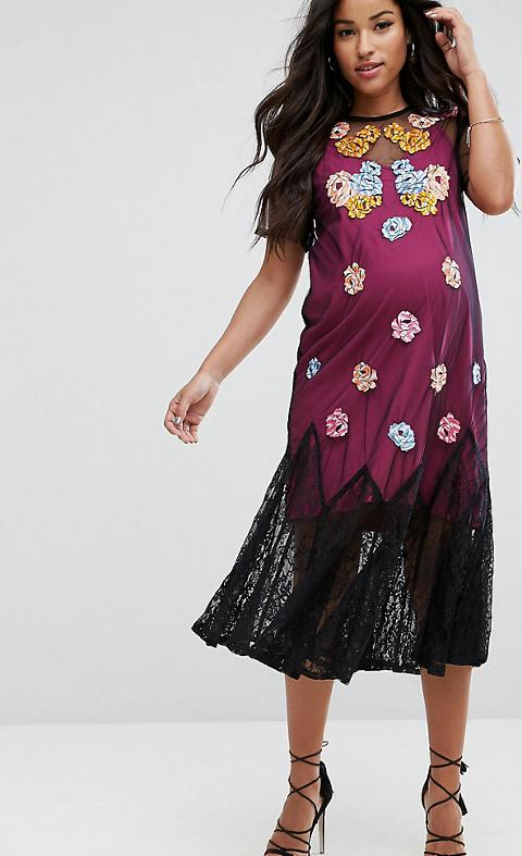616e6badba20c Shop Asos Maternity Dresses for Women - Obsessory