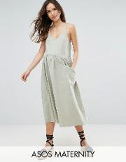 casual smock cami dress