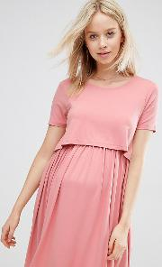 Double Layer Skater Dress