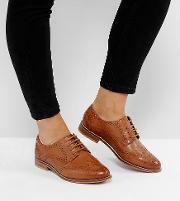 mojito wide fit leather brogues