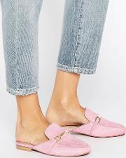 movie leather mule loafers