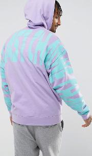 Oversized Hoodie With Back Print