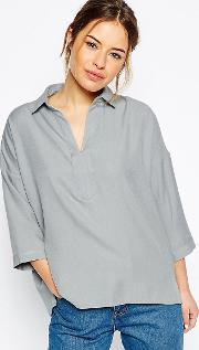 Casual Oversize Blouse