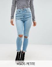ridley full length jeans in felix wash