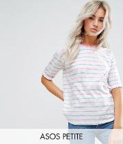 t shirt in candy stripe
