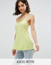 the ultimate cami with caging detail