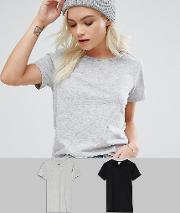 The Ultimate Crew Neck  Shirt 2 Pack