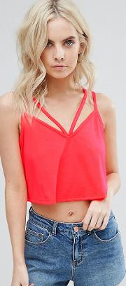 The Ultimate Crop Cami With Caging Detail