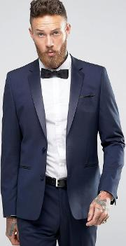 Slim Tuxedo Suit Jacket In Navy