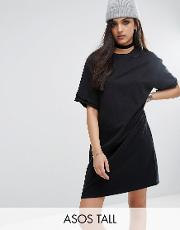 ultimate  shirt dress with rolled sleeves