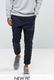 Tapered Chinos  Navy