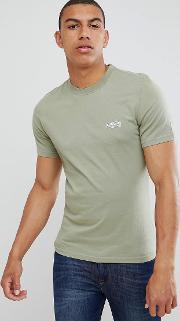 small logo tshirt in olive