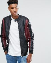 Tall Faux Leather Jacket
