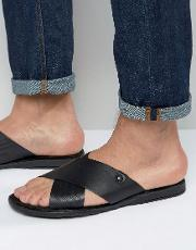 hector leather sandals