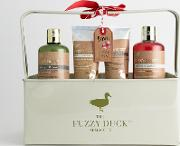 the fuzzy duck christmas beauty gift set