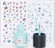 Mermaid Scented Nail Polish Kit
