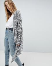 ania lightweight knitted waterfall cardigan