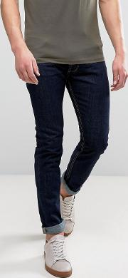 Raw Tapered Fit Jeans